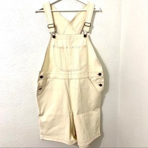 Vintage Painter pink lined Overalls 14/16